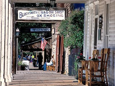 Virginia & Nevada City ghost towns