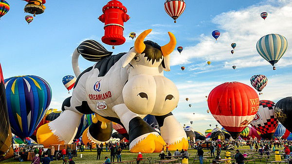 Balloon Fiesta-Special Shapes 2013