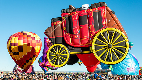 Wells Fargo Balloon Ride