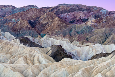 Colors & patterns at Zabriski Point