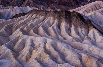 Morning light @  Zabriskie Point