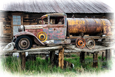 Old Truck in Guffy, Colorado