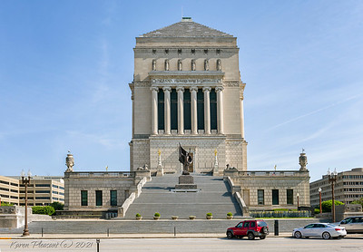 Indiana War Memorial - south side