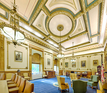 Indiana State House - Governor's office