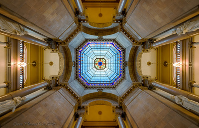 Indiana Statehouse - dome