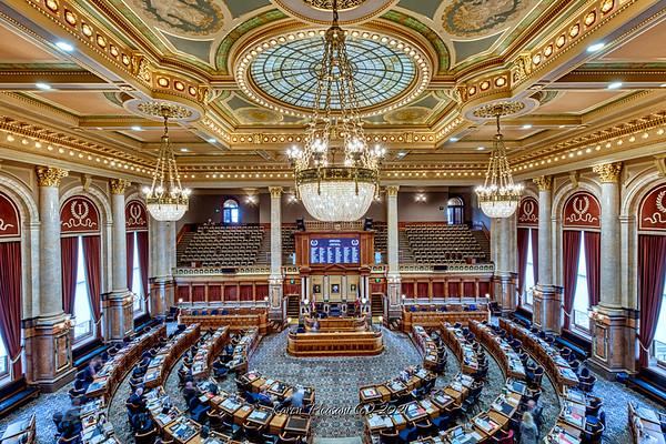 Iowa State Capitol - House Chamber