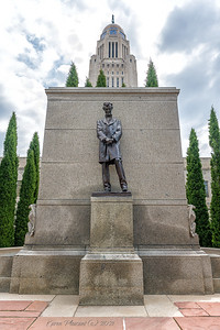 Nebraska State Capitol - Abraham Lincoln
