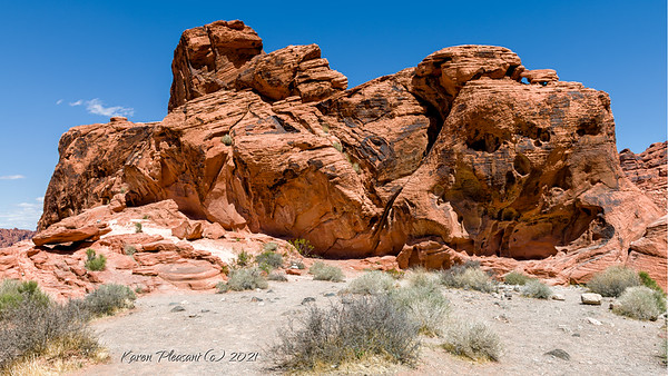 Valley of Fire - Beehive rocks