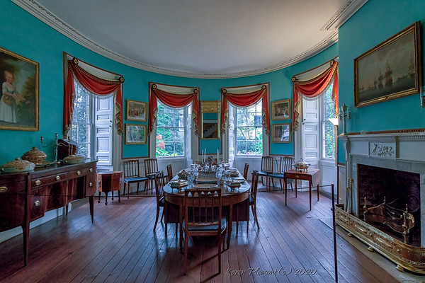 Nathaniel Russell  house-dining room