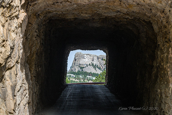 Iron Mountain Road tunnel