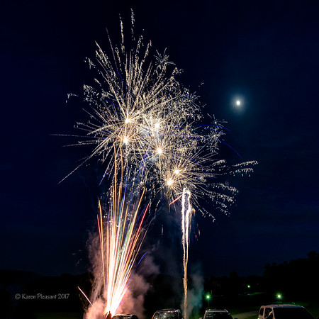 Fourth of July celebration 2017 - getting started!
