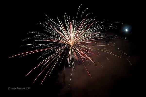 Fourth of July 2017 celebration