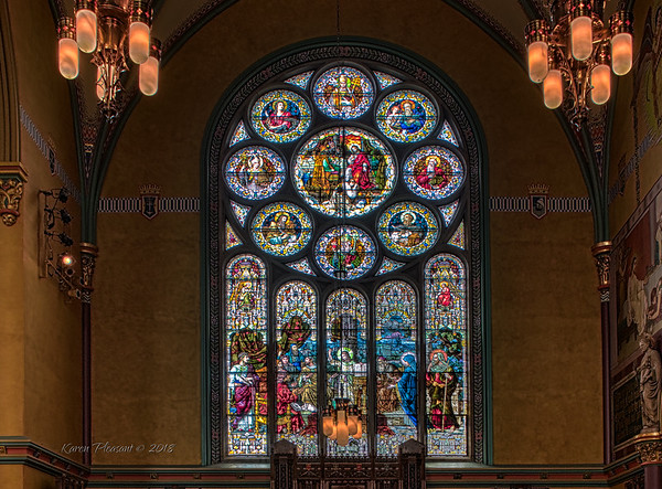 church or the Madeleine - alcove