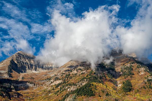 Mountains near Sundance/Park City