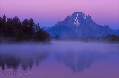 Mount Moran - Pre-dawn
