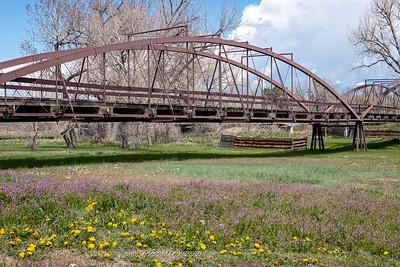 King's Iron Bridge over Laramie River