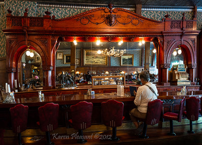 Irma Hotel & Saloon, Cody, Wyoming