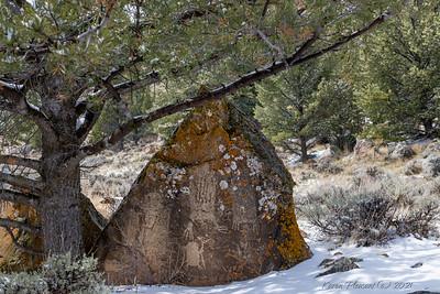 Petroglyphs, Dubois, Wyoming