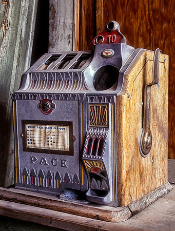 Bodie State Historic Park -  Slot machine