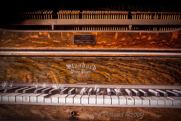Bodie State Historic Park -  Piano