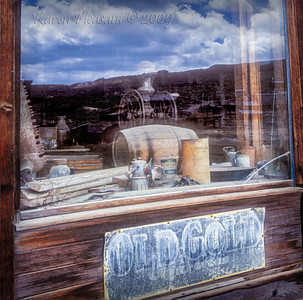Bodie State Historic Park -  Window reflections