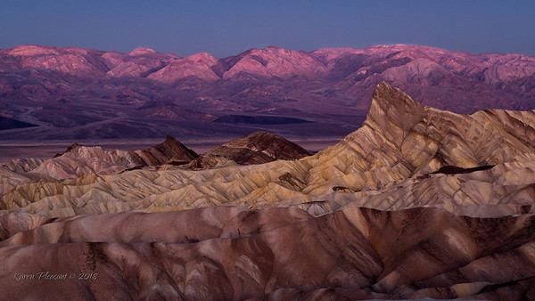 Zabriskie Point @ sunrise