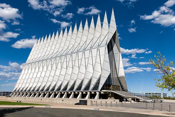AF Acadamy Chapel, Colorado