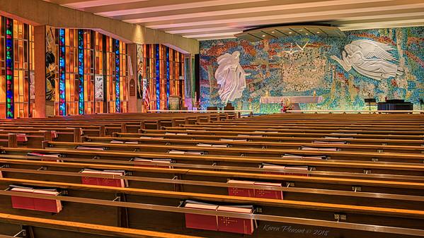 AF Academy - Catholic Chapel, Colorado