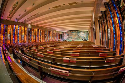Catholic chapel - 15mm fisheye, Colorado