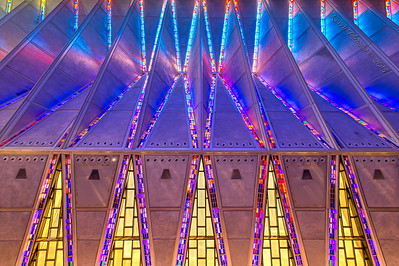"""Side wall  and ceiling view of the chapel - 15mm """"corrected"""""""