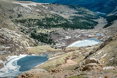 Echo Lake, Mt. Evans, Colorado