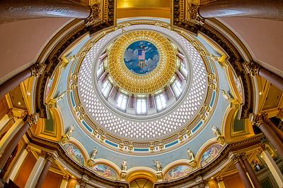 Iowa State Capitol - Dome