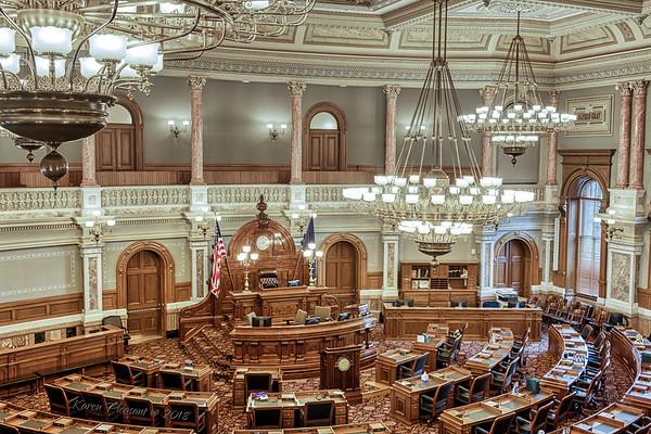 Kansas State Capitol - House of Representatives