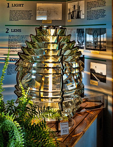 Fresnel lens, Iroquois Lighthouse