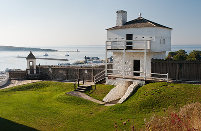 West Blockhouse, Fort Mackinac
