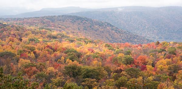 High Knob Vista, Worlds End State Park
