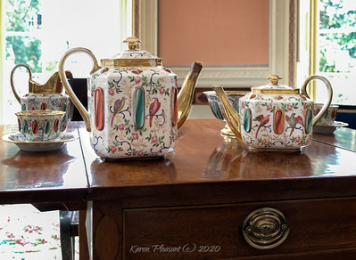 Nathaniel Russell house china