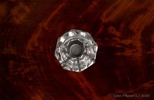 Aiken-Rhett house - crystal drawer pull