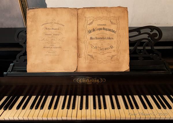Aiken-Rhett house - Chickering piano