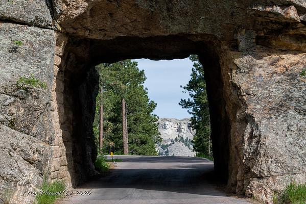 Iron Mountain Road tunnel