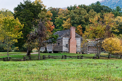 Shields family home, Cades Cove, Smokey Mountain NP