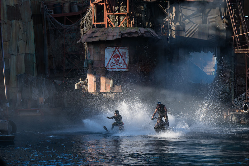 Opening of WaterWorld show