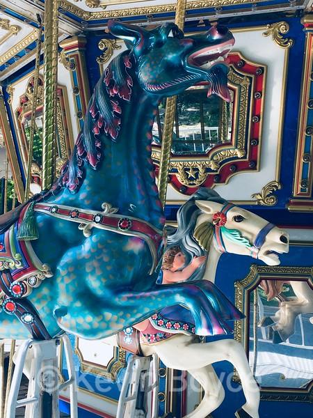 Carousel Blue