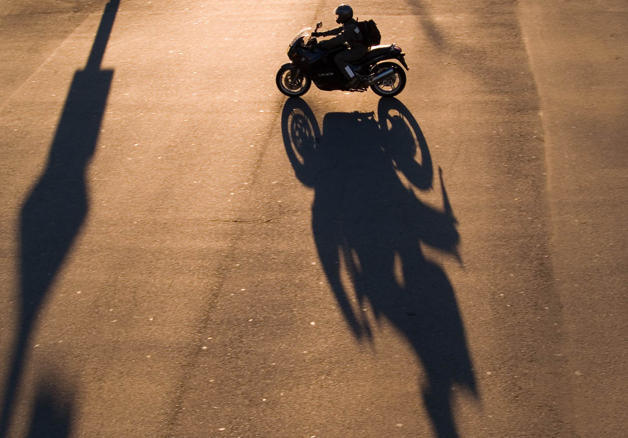 Motorcycle Shadow 1