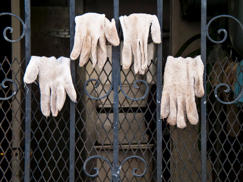 Gloves On Gate 1