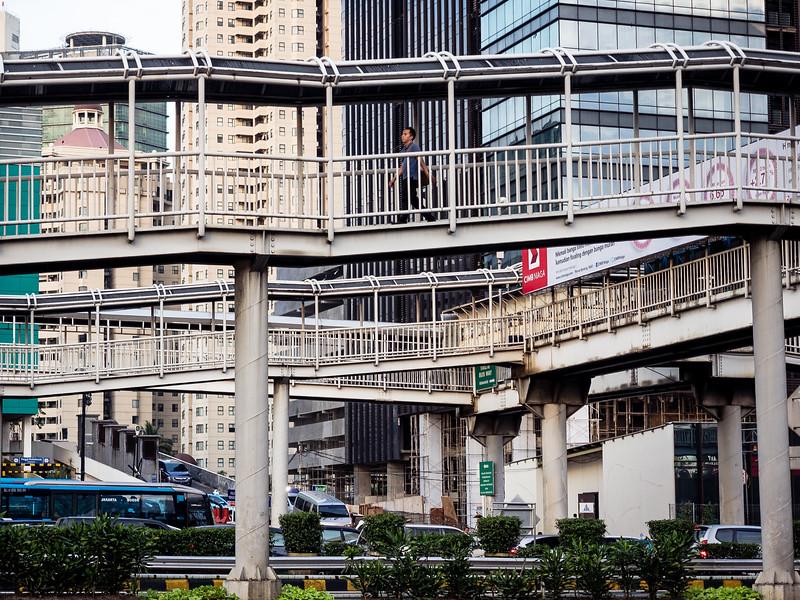 Walkways, Jakarta, Indonesia