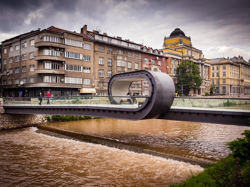 Modern Bridge, Sarajevo, Bosnia
