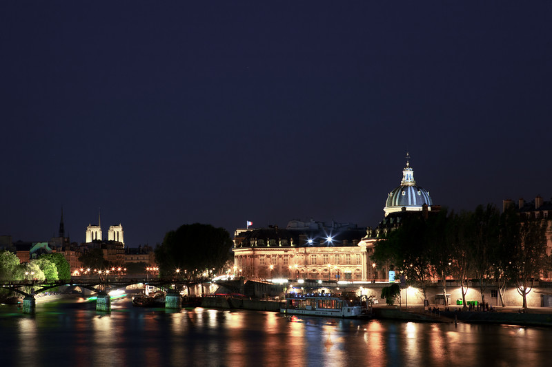 Paris night landscape