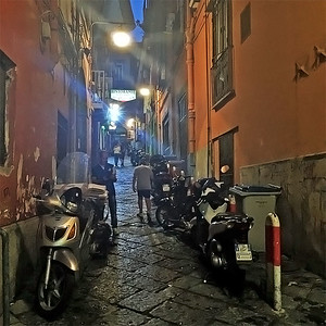 "The ""Spanish quarters"", Napoli, Italy"