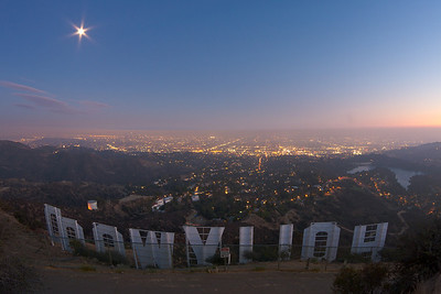 hollywood from above